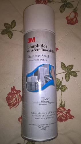 limpiador de acero inoxidable 3m
