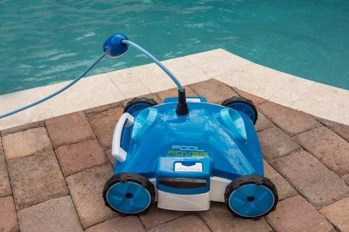 Limpiador de albercas robot aquabot 9 en for Limpiador fondo piscina