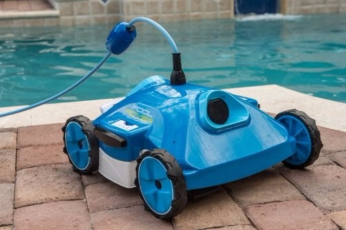 Limpiador de albercas robot aquabot ajet 1211 9 for Limpiador fondo piscina