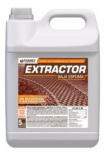 limpiador de alfombras inyección extracción extractor x 5 lt casa thames