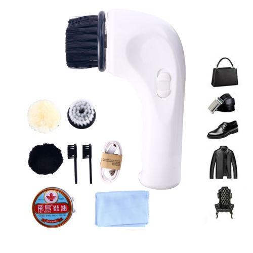 Limpiador De Calzado Eléctrico Máquina Limpiador De Cepillo -   117.366 en  Mercado Libre 0b858a357910