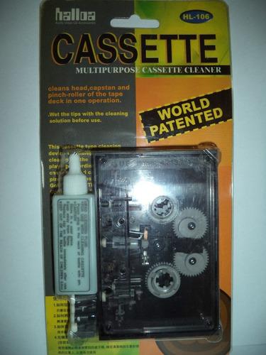 limpiador de cassette hl101
