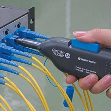 limpiador de conec de fibra óptica sfm-250 nuevo envio grat