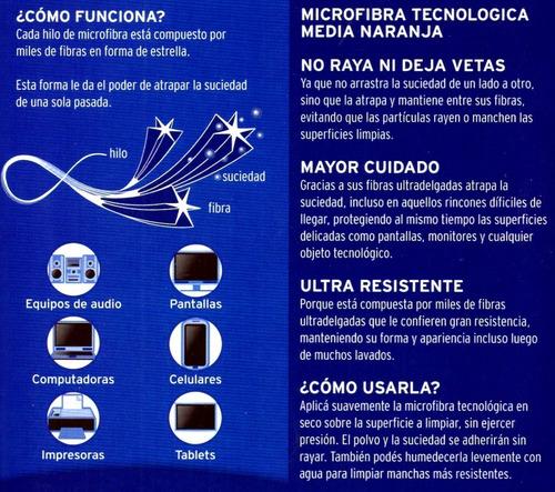 limpiador de electrónicos blem + paño microfibra tecnologia