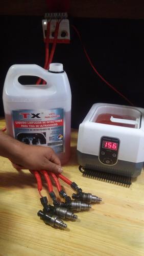 limpiador de inyectores por ultrasonido,profesional