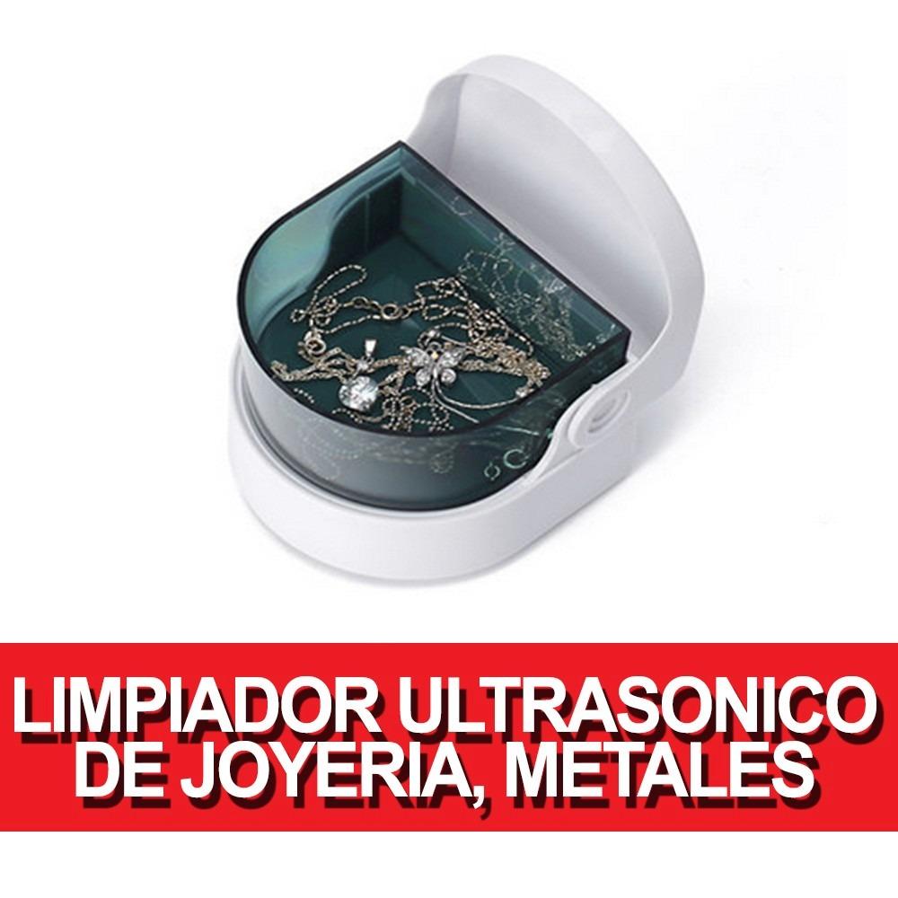 Limpiador de joyeria metales protesis dentales ultrasonico - Limpiador de metales ...