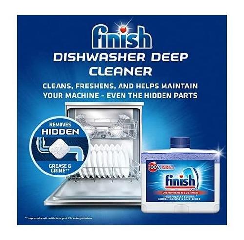 limpiador de lavavajillas de doble acción para acabados: fig