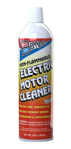 limpiador de motor eléctrico berryman