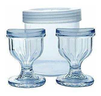 limpiador de ojos transparente tazas para limpieza de ojos e