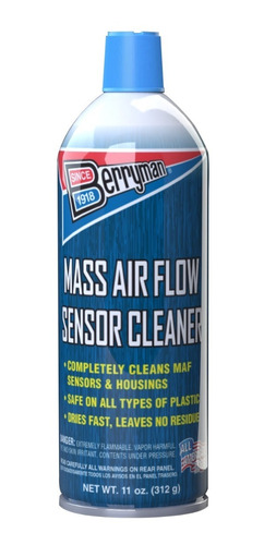 limpiador de sensor maf flujo de aire berryman