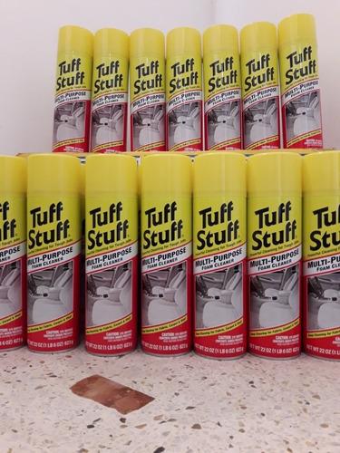 limpiador de tapiceria tuff stuff