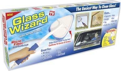 limpiador de vidrios - glass wizard