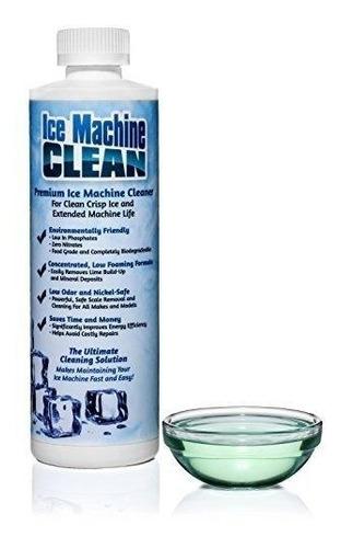 limpiador /descalcificador de máquinas de hielo - funciona !