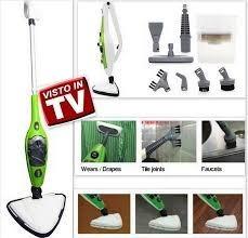 limpiador desinfectador a vapor 10 en 1 mop h2o x10 tv origi
