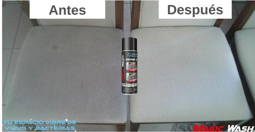 limpiador desinfectante de tapicería - serie t