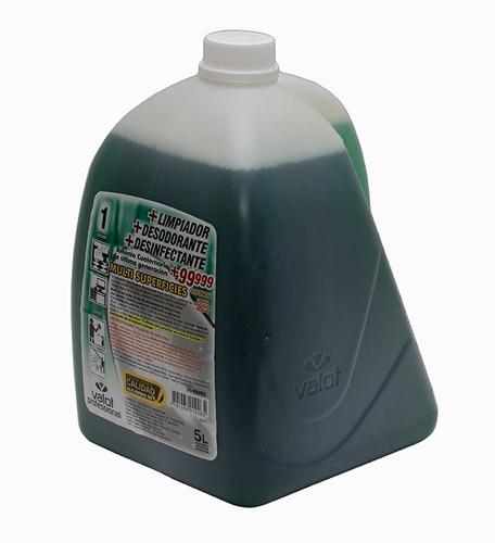 limpiador desinfectante desodorante x 5 lts   valot oficial