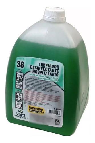 limpiador desinfectante hospitalario x 5 lts | valot oficial