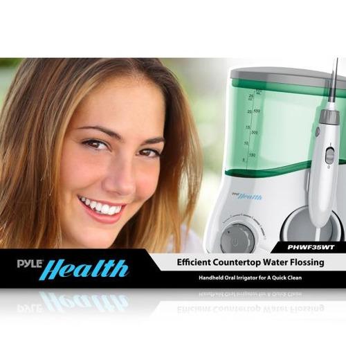 limpiador dientes pyle con irrigación estacionario