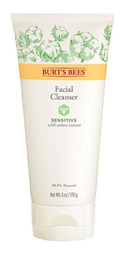 limpiador facial burts bees sensitive 170 gr