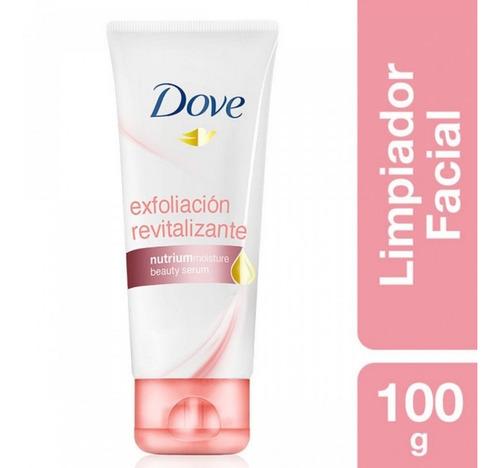 limpiador facial espuma dove exfoliación revitalizante 100g