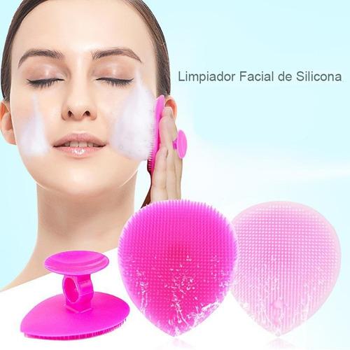 limpiador facial exfoliante cepillo removedor puntos negros