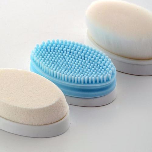 limpiador facial exfoliante homedics 3 cabezales 6 cuotas