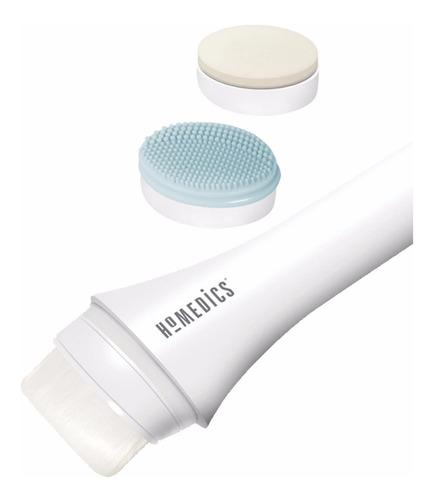limpiador facial exfoliante homedics 3 cabezales fac-100
