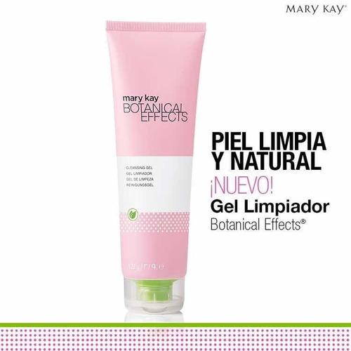 limpiador facial gel limpiador botanical effects mary kay