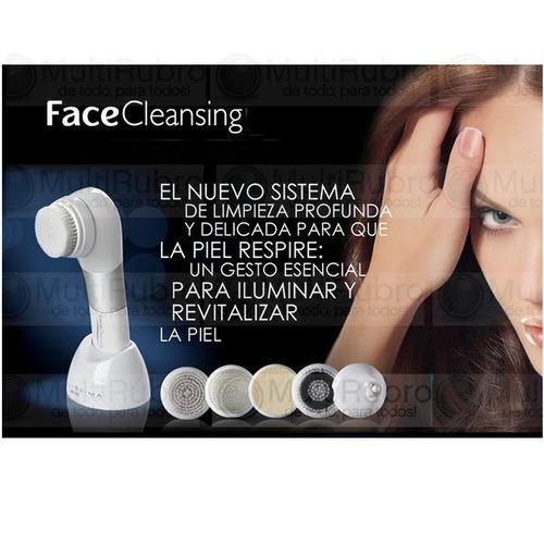 limpiador facial masajeador bellisisma cara face cleansing