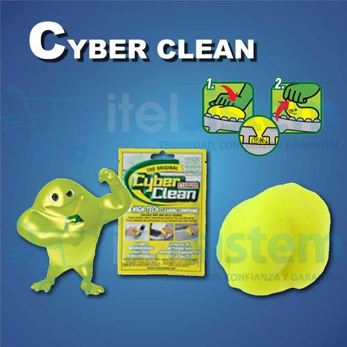 limpiador gel cyber clean sachet laptop celulares itelsistem