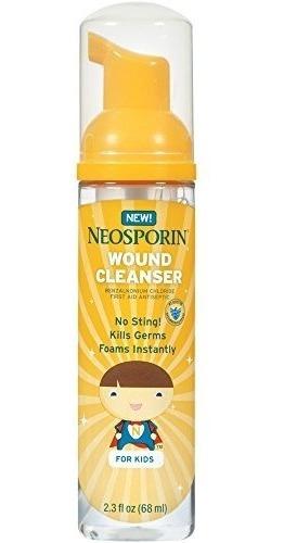 limpiador heridas neosporin niños ayudar a matar bacterias 2