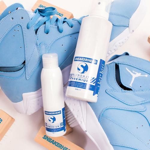 limpiador + impermeabilizante para zapatillas - sneakerhead