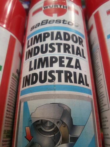 limpiador industrial wurth