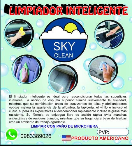 limpiador inteligente, sky clean (autos)