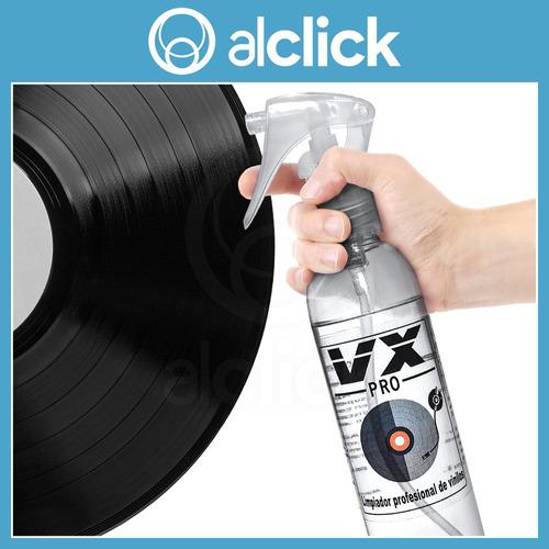 limpiador liquido de discos vinilo vx pro tocadiscos alclick