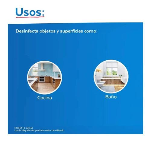 limpiador lysol desinfectante liquido 5 l elimina 99% virus