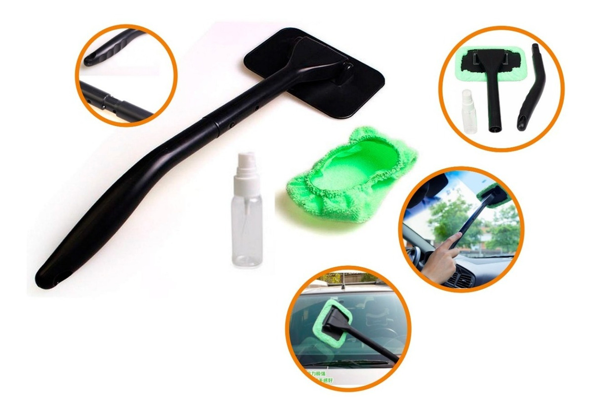 Resultado de imagen para Limpiador Microfibra De Ventanas Para Autos + Spray