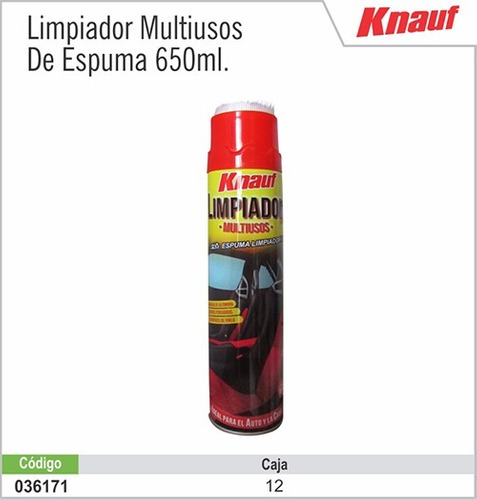 limpiador multiusos knauf de 650ml