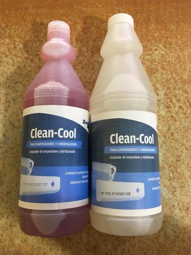 limpiador para aires acondicionados y evaporadores