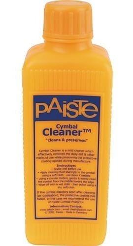 limpiador para platillos paiste cymbal cleaner limpia platos