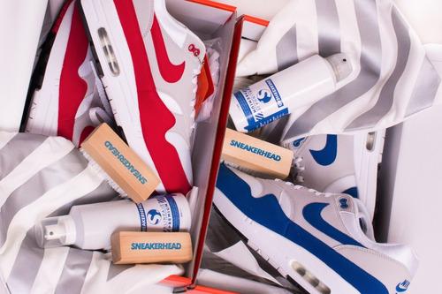 limpiador premium para zapatillas (gamuza,cuero) sneakerhead