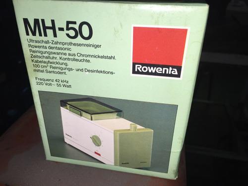 limpiador ultrasonico rowenta p/protesis dental precio x may