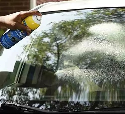 limpiador y repelente de agua vidrios  auto rain x aerosol