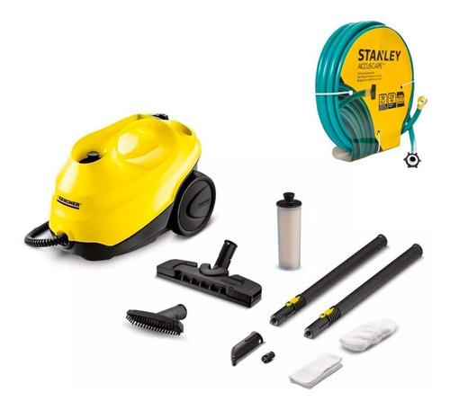 limpiadora a vapor sc3 easy fix kärcher + manguera stanley