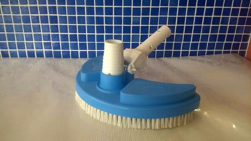 limpiafondo medialuna mavi barrefondo con cepillos para pile