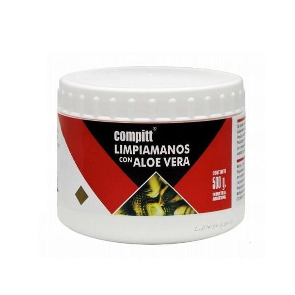 LIMPIA MANOS DELTA COMPITT 500GR DESENGRASANTE ALOE VERA (LMX500)