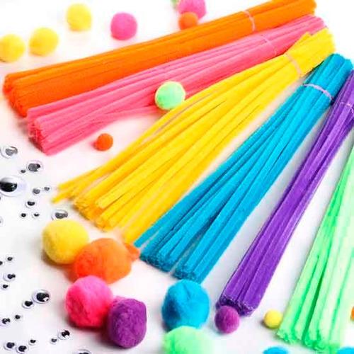 limpiapipas x100  limpia pipas + de12 colores+ regalo