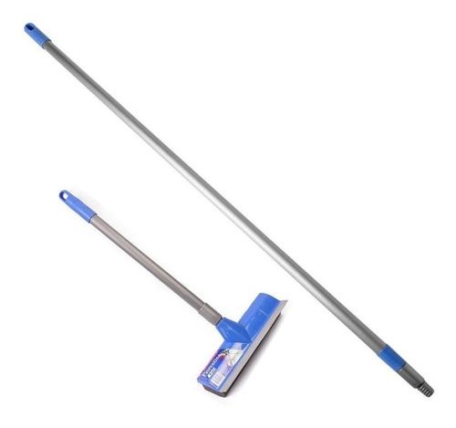 limpiavidrios 26cm + palo extensible 1.2m a 2,1m fiorentina