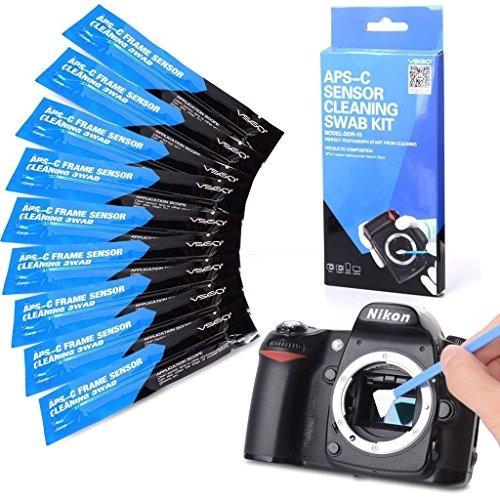 limpieza con sensor de cámara hisopo tipo 2 (vsog ddr15) par