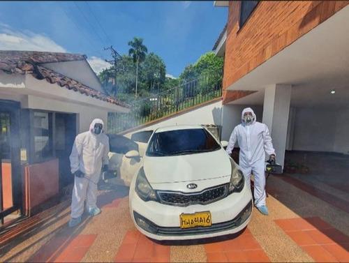 limpieza con termonebulización